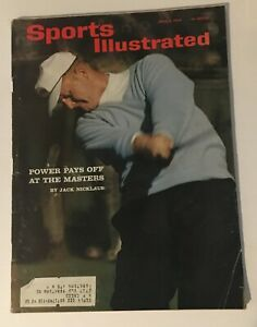 Sports Illustrated April 6, 1964 Jack Nicklaus - The Masters