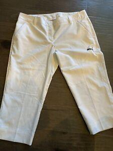 White Puma Cell Golf Pants, Sz XL