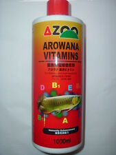 1000 ML AZOO AROWANA VITAMINS for AROWANAS!!