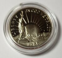 1986 United States Liberty Clad 50 Cents Half Dollar BU Commemorative