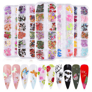 Nail decoration painting, handmade DIY stickers, Christmas pattern nail painting