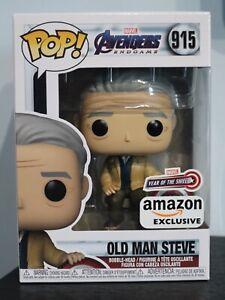 Funko Pop! - OLD MAN STEVE 915 - MARVEL AVENGERS ENDGAME - AMAZON [1]