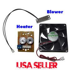12V DC HEATER BLOWER MODULE KIT for CCTV CAMERA HOUSING'S 12vDC 12 Volt Security