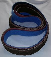 "2""x 72"" Sanding Belt Variety Pack Surface Conditioning You Pick (3pcs)"