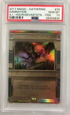 Magic the Gathering DAMNATION AMONKHET INVOCATIONS Foil PSA 10 GEM MT