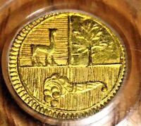 1838 North Peru 1/2 escudo PCGS AU58 Almost Uncirculated ngc gold Lima half RARE