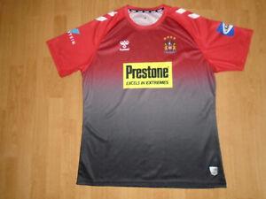 Wigan Warriors shirt size extra large, Hummel, very good condition, UK FREEPOST!