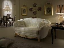 Klassische 2 Sitzer Couch Polster Sofa Sitz Couchen Italien Design arredoclassic