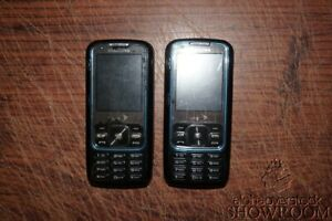 Lot 2 Used & Untested Samsung M540 Rant Slide Phone For Parts Or Repairs Only