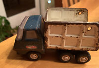 Vintage Tonka Mini Sanitation Truck Pressed Steel 1970's Dump Back Tailgate gone