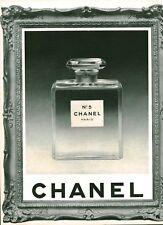 Publicité ancienne parfum No 5 Chanel 1951 issue de magazine
