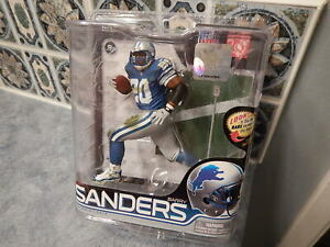 NFL Football McFarlane Action Figure: BARRY SANDERS Series 28: Detroit Lions