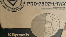 Brand New Klipsch PRO-7502-L-THX In-Ceiling Speaker (Each)