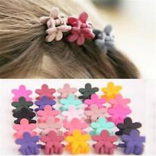 30 PCS Plastic Kids Baby Mini Claw Girls Hairpins Flower Hair Clips Clamp Lovely