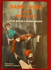 New listing Danny Dunn And The Fossil Cave Book Jaw Williams Raymond Abrashkin Turkle
