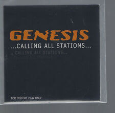 "GENESIS ""...Calling All Stations..."" Promo CD Cardsleeve Instore Play Only"