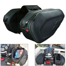 Motorcycle Pannier Bags Saddlebag Luggage Saddle Bags W/ Rain Cover 36-58L Great