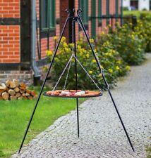 Dreibein Schwenkgrill Grillrost aus ROHSTAHL 70cm  700mm Grill Schwenker Dreib