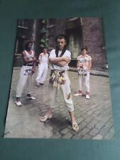 CULTURE CLUB  - POP MUSIC - 1 PAGE  PICTURE- CLIPPING/CUTTING