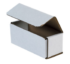 White Corrugated Shipping Mailer Packing Box Boxes 6x4x2 6x4x3 7x4x2 50 100 200