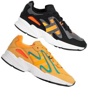 adidas Originals Yung-96 Chasm Herren Freizeit Schuhe Sneaker schwarz orange neu