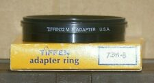 Tiffen 72 M 8 Series 8 Lens Adapter with a Retaining Ring