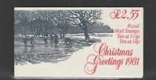 Engeland booklet FX4 MNH 1981 - Christmas