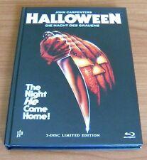 John Carpenter's HALLOWEEN (dvd + blu-ray) MEDIABOOK Limited Edition !!!