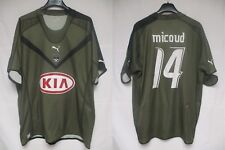 Maillot GIRONDINS de BORDEAUX 2007 kaki MICOUD vintage PUMA shirt trikot XXL