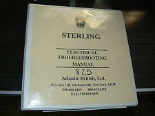 1987 1988 Sterling 825 Electrical Repair Shop Manual 87 88 Repair Service Books