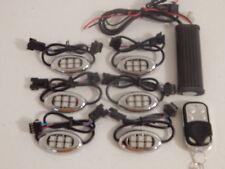 Wireless 18 Color 5050 RGB SMD Led 6 pc Pod Night Train Motorcycle Led Light Kit
