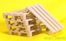 Cargo-To-Go: O GA Pallets - Set of 10 - Layout Details - O Scale - 101-0916
