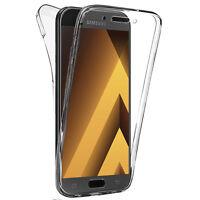 "Coque Silicone Gel ultra 360° Avant et Arrière Samsung Galaxy A5 (2017) 5.2"""