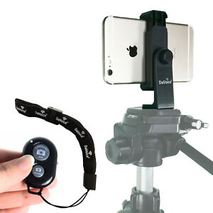 Video Camera Stabilizer for iPhone 7 Plus Tripod Mount Samsung Holder Adapter