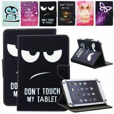 Universal 8 Inch Pattern Leather Flip Tablet Stand Case Cover for Samsung Galaxy