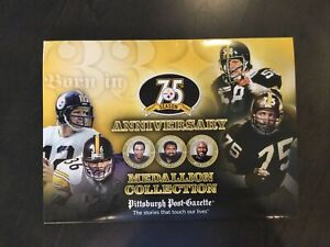 NFL Steelers 75th Season Anniversary Medallion Collection