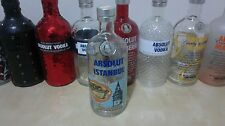 ABSOLUT ISTANBUL VODKA LIMITED EDITION 2012 RARE EMPTY BOTTLE 700 ml