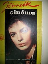 MARIE LAFORET PASCALE PETIT BELMONDO POUR QUI SONNE LE GLAS JEUNESSE CINEMA 1960