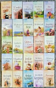 HEARTSONG PRESENTS 25 BOOK LOT Inspirational Christian Fiction Romance Novels