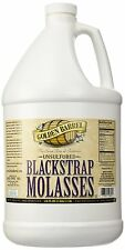 Golden Barrel Bulk Unsulfured Blackstrap Molasses Jug (128 fl oz), New