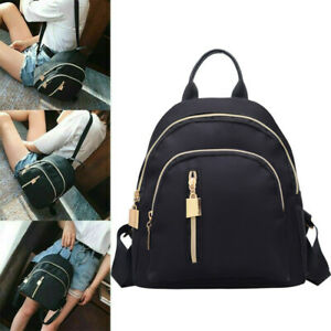 Women Ladies Small Mini Fashion School Backpack Travel Shoulder Bag Rucksack New