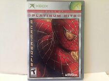 Xbox 360 Spiderman 2 Two Game Complete Used Very Good