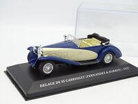 Ixo Presse 1/43 - Delage D8 SS Cabriolet Fernandez Darrin 1932