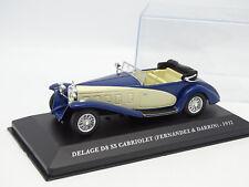 Ixo Carrera 1/43 - Delage D8 SS Cabriolet Fernandez Darrin 1932