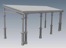 TRADITIONAL TIMBER FLAT ROOF VERANDAH V02 - Full  Building Plans 2D & 3D