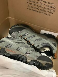 Merrell Mens hiking shoes grey - Footwear - comfortable - Authentic - Size: 8