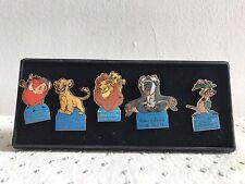 Coffret 5 Pin's Disney Home Vidéo 90's - Le Roi Lion
