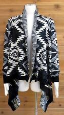 Vocal Cardigan! Beautiful Knit w/a Southwestern Design  - #0334 - Sz LG/XL