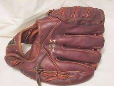 MacGregor Left Handed Leather Baseball Mitt Glove Wing back Frank Coleman