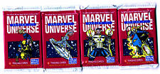 BOOSTER - MARVEL SERIES 3 - SUPER HEROES SPIDERMAN etc (12 Cartes) 12 Cards